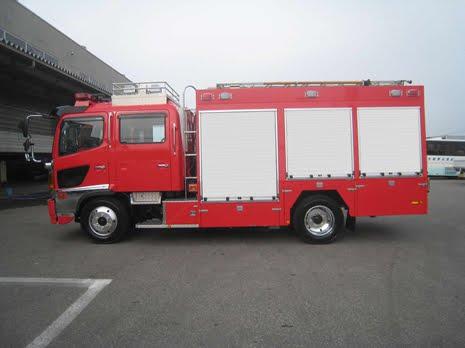 水槽付消防ポンプ車 水Ⅰ-B型