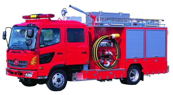 化学消防車 化-Ⅱ型