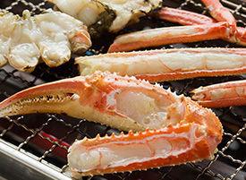 生冷本ずわい蟹 蟹足半身(茹で・焼き)
